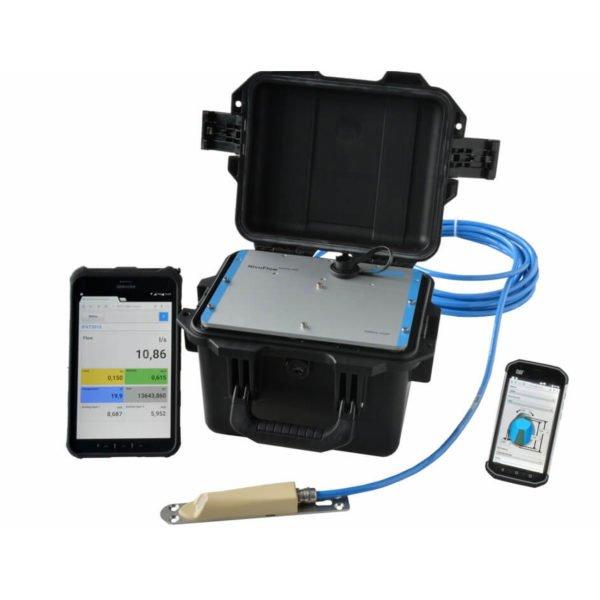 Caudalímetro Nivuflow Mobile 750