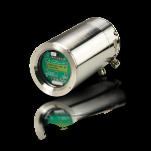 Caudalímetro no invasivo Fluxus F801 para zona ATEX y ambiente marino