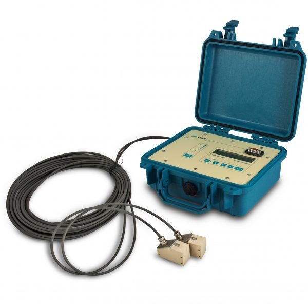 Caudalímetro ultrasónico portátul Fluxus F401