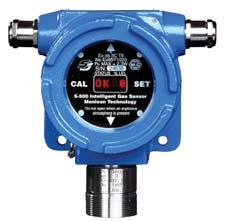 Detector de gases combustibles Monicon S500