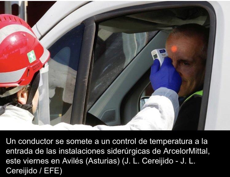 Medición temperatura por infrarrojos